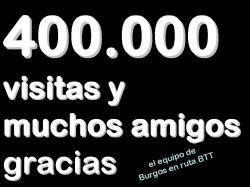 400000 visitas logo