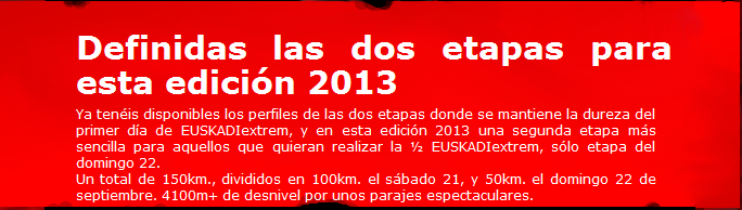 euskadi´extrem 2013